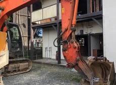 鉄骨集合住宅解体
